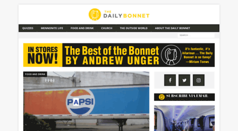 Visit Dailybonnet.com - The Daily Bonnet | Your Trusted Source for ...