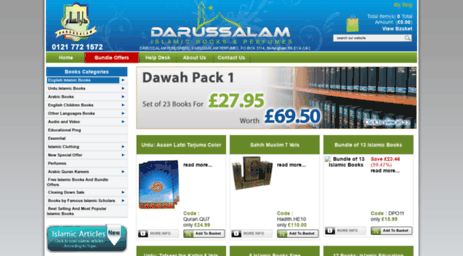 Visit Darussalaam co uk - Darussalam - Islamic Dawah Books