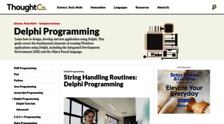 Visit Delphi about com - Delphi Programming