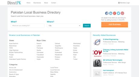 Visit Directpk com - Pakistan Local Business Directory, Karachi
