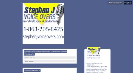Visit Djdrop123 tumblr com - Dj Drop, Radio Imaging, Custom Voiceovers