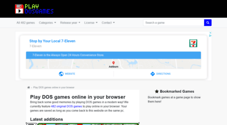 ⭐ Dos games download free full version   softsmilesystemsinc com