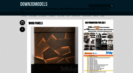 Visit Down3dmodels com - Down3Dmodels - Free 3Dmodels,3Dscenes