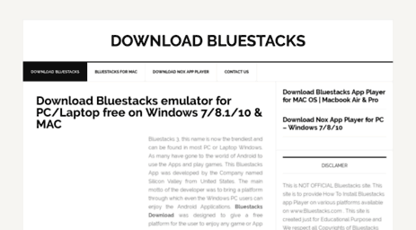 How to download and install bluestacks app player on windows.