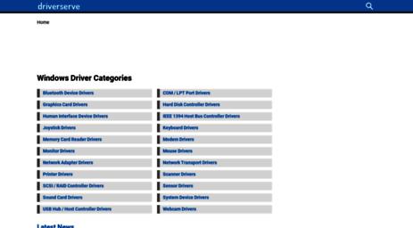Visit Driverserve com - Driverserve