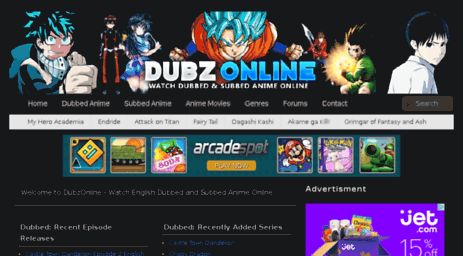Visit Dubzonline cm - English Dubbed Anime - Watch English