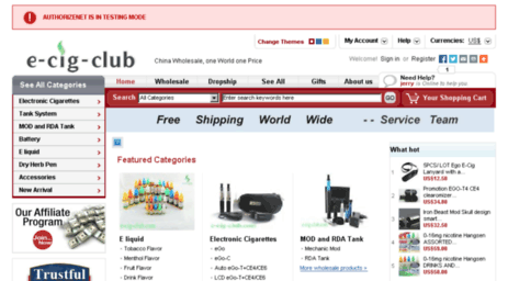 Visit E-cig-club com - Wholesale cheapest electronic