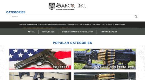 Visit E-sarcoinc com - SARCO, Inc  - The Largest Gun Shop in