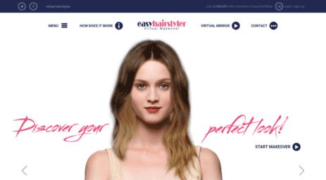 Visit Easyhairstyler Com Easyhairstyler Virtual Hairstyles Virtual Hairstylist Hairstyle Game