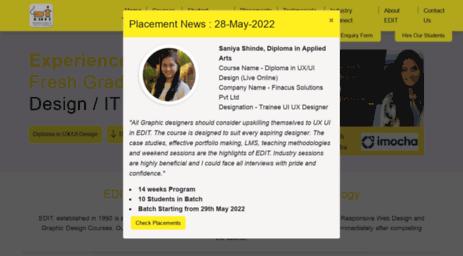 Visit Edit Co In Best Ui Ux Graphic Web Mobile App Design Course In Mumbai Thane Pune