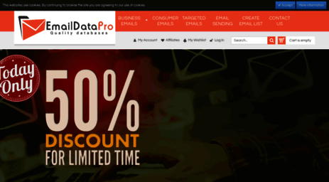 Visit Emaildatapro com - Buy Email Database, Email Addresses