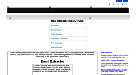 Visit Emailx discoveryvip com - Free Online Email Extractor