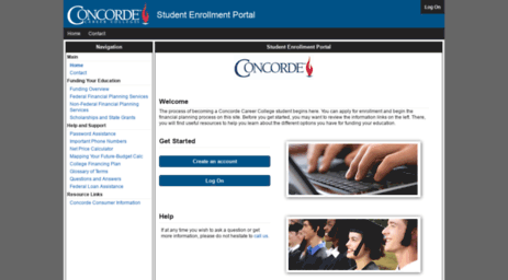 foto de concorde career college student portal Official Login Page 100% Verified