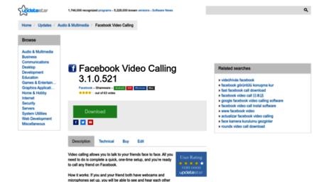 CALLING VIDEO 3.1.0.521 FACEBOOK TÉLÉCHARGER