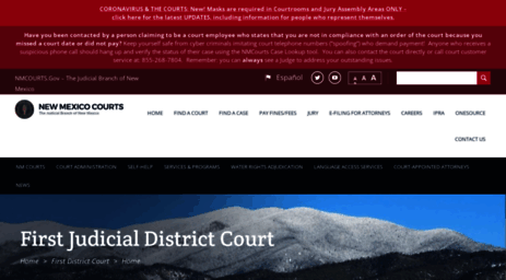 Visit Firstdistrictcourt nmcourts gov - Home