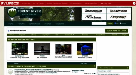 Visit Forestriverforums com - Forest River Forums - Forest
