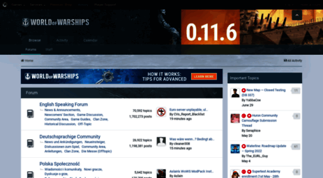 Visit Forum worldofwarships eu - Forums - World of Warships