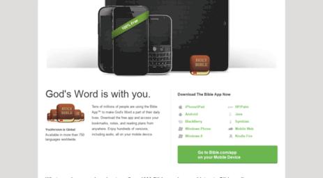 Visit Free bible - 100% Free - Free Bible - Download The Bible App