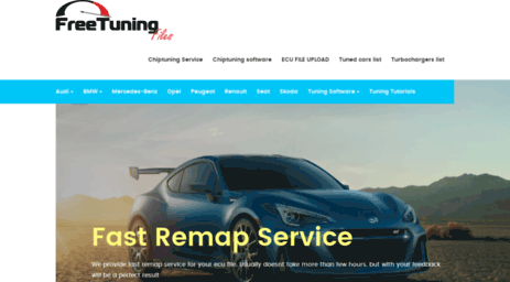 Visit Freetuningfiles com - Chiptuning Service - Winols
