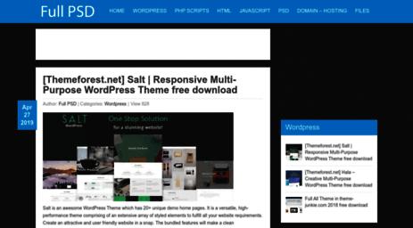 Visit Fullpsd com - FullPSD - Download for free - template