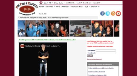 Visit Funff com au - Melbourne Social Club: Make friends
