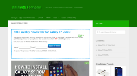 Visit Galaxys7root com - GalaxyS7Root com | Learn How to Root Galaxy