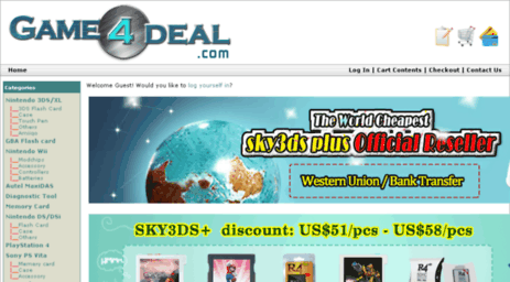 Visit Game4deal com - Wholesale R4 3DS flashcard, R4DS, R4I SDHC
