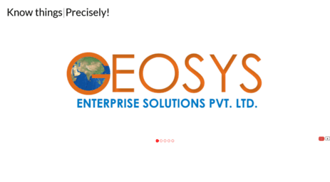 Visit Geosys co in - GIS Training, Development and Consulting