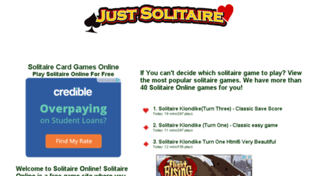 Visit German codeover org - World of Solitaire: Free Green