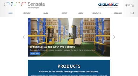 Visit Gigavac com - GIGAVAC: ADVANCED SWITCHING SOLUTIONS