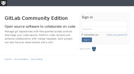 Visit Git influenster com - GitLab