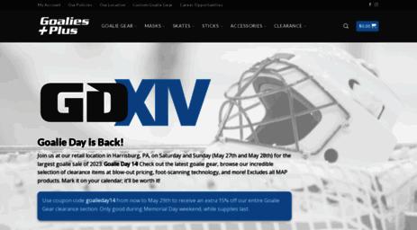 Visit Goaliesplus com - Goalies Plus   Ultimate Hockey Goalie