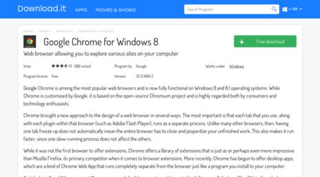 Visit Google-chrome-windows-8 jaleco com - Google Chrome for Windows