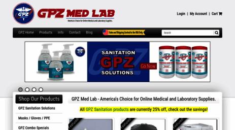Visit Gpzmedlab com - GPZ Med Lab - Your Online Source for