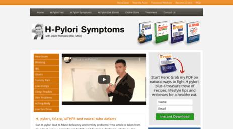 h pylori diet pdf