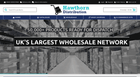 Visit Hawthorndistribution com - Hawthorn Distribution - Drop