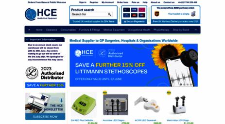 Visit Hce-uk com - HCE Health-Care Equipment | Medical