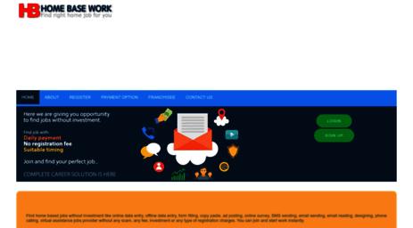 Visit Homebasework org - Online data entry, offline data