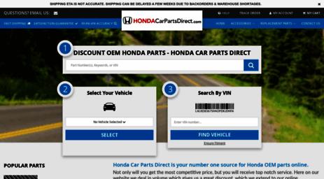 Honda Parts Direct >> Visit Hondaparts Bochhondawest Com Honda Car Parts Direct