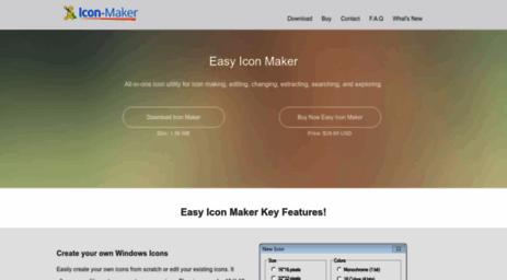 Visit Icon-maker com - Easy Icon Maker Software , icon creator