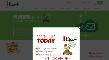 Visit Ikhat com - Digital Marketing Through Email   Spam