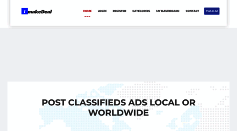 Visit Imakedeal com - FreeAds - Post free ads online local