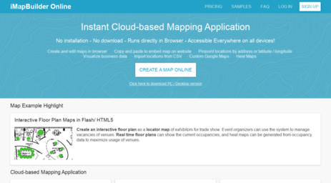 Visit Imapbuilder net - Online Map Maker - iMapBuilder