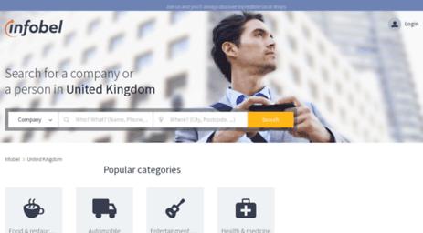 Visit Infobel co uk - Infobel United Kingdom - Phone directory