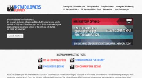 Visit Instafollowerfactory com - InstaFollowers Network | Free