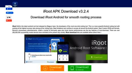 Visit Iroot-download com - IRoot Download - The iroot