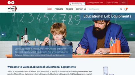 Visit Jaincolab com - Educational School Equipments, School