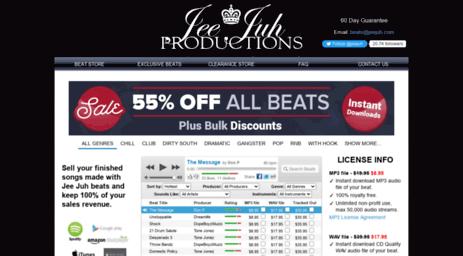 Visit Jeejuh com - Jee Juh - Hip Hop Beats for sale | Buy Rap
