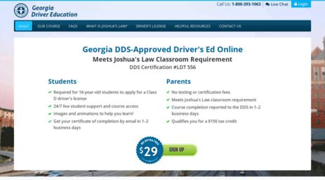 Drivers Ed Online >> Visit Joshuaslaw Com Joshua S Law Course Georgia Drivers