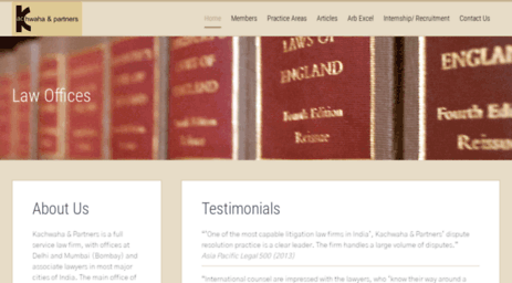 Visit Kaplegal com - Top Corporate Commercial Law Firm India, Best